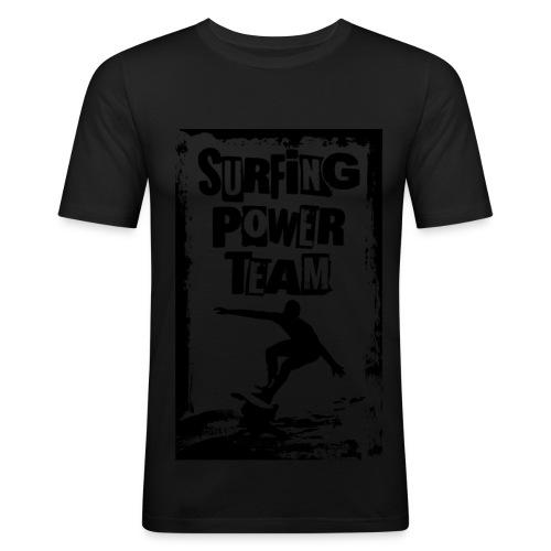 Surfing power - Men's Slim Fit T-Shirt