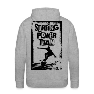Surfing power - Men's Premium Hoodie