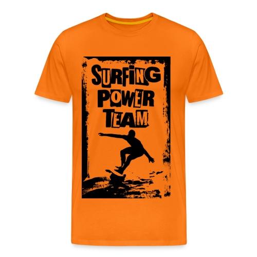 Surfing power - Men's Premium T-Shirt