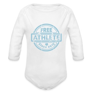 Free Athlete Since 2015 - Baby Bio-Langarm-Body
