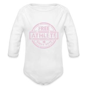 Free Athlete Since 2015 - Baby Bio-Langarm-Body