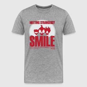 Men - tshirt - Smile - Herre premium T-shirt
