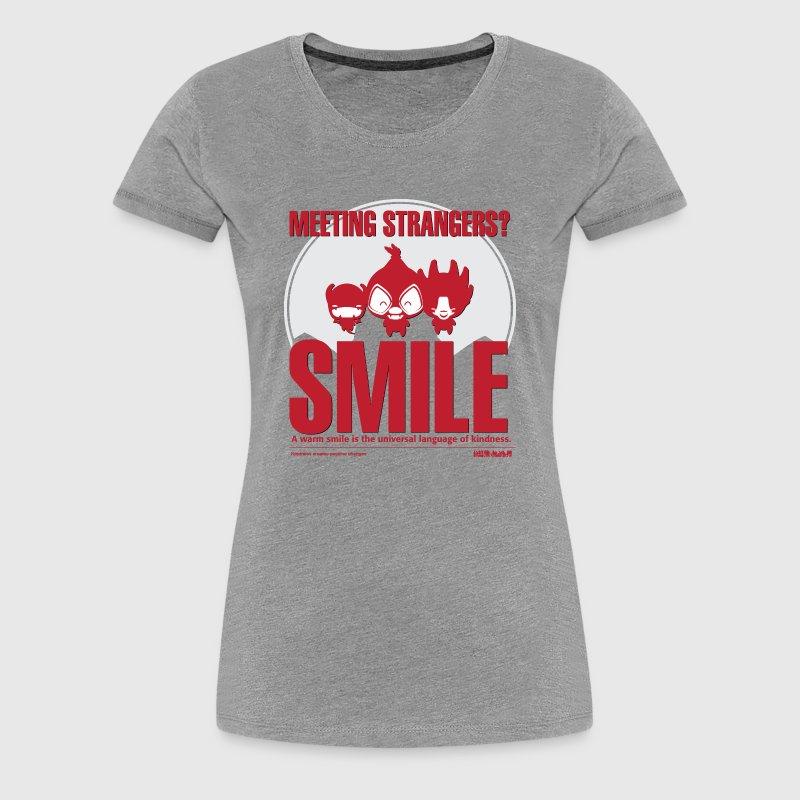 Women  - tshirt - Smile - Dame premium T-shirt