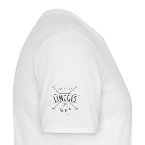 T-shirt typo simple Limoges - T-shirt Homme