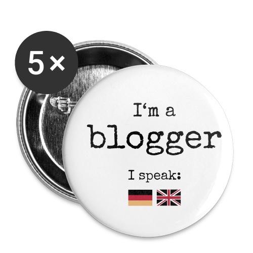 Button medium - I'm a blogger - Buttons medium 32 mm