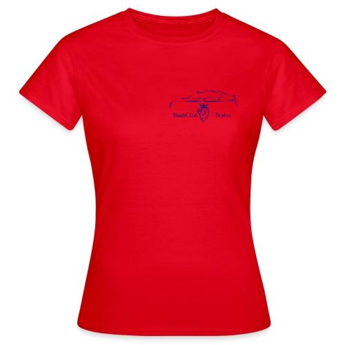 Club-Shirt SaabClub-Berlin & SAAB-REISEN - Frauen T-Shirt