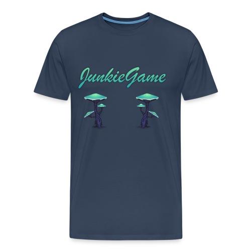 JunkieGame - Heilige Pilzchen - Männer Premium T-Shirt