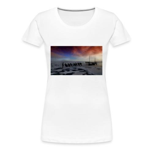 Hauling The Lifeboats - Women's Premium T-Shirt