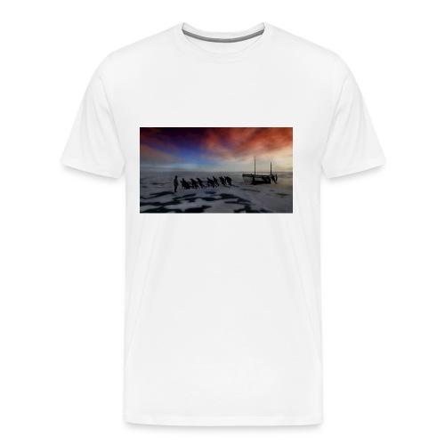 Hauling The Lifeboats - Men's Premium T-Shirt