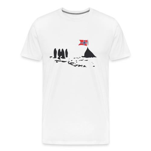 Amundsen @ The South Pole - Men's Premium T-Shirt