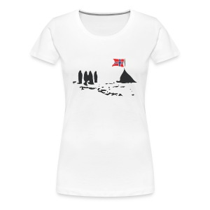 Amundsen @ The South Pole - Women's Premium T-Shirt