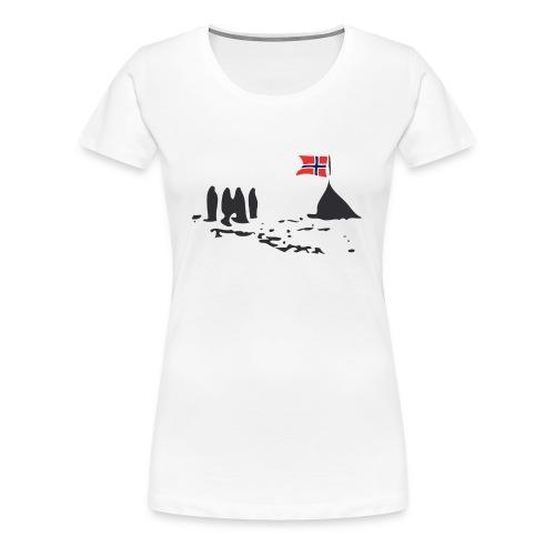 Amundsen @ The South Pole - Women's Premium T-Shirt