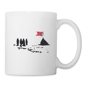 Amundsen @ The South Pole - Mug