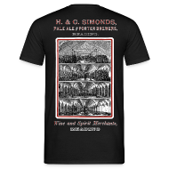 T-Shirts ~ Men's T-Shirt ~ Simonds Brewery (Front & Back)