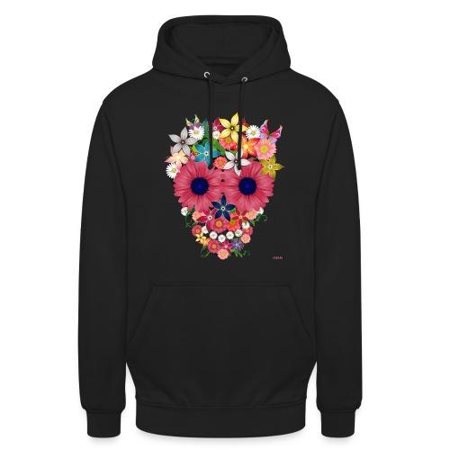 Flowers - Felpa con cappuccio unisex