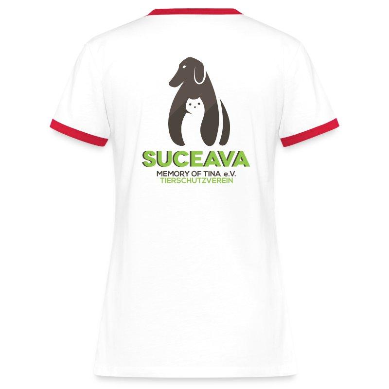 suc_logo_300dpi - Frauen Kontrast-T-Shirt