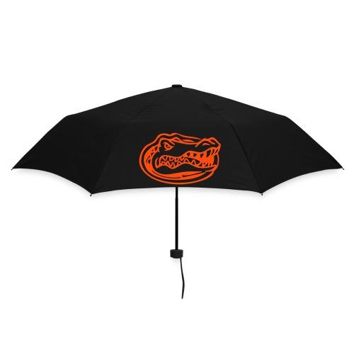 The Orange gatorhead logo umbrella (Black) - Umbrella (small)