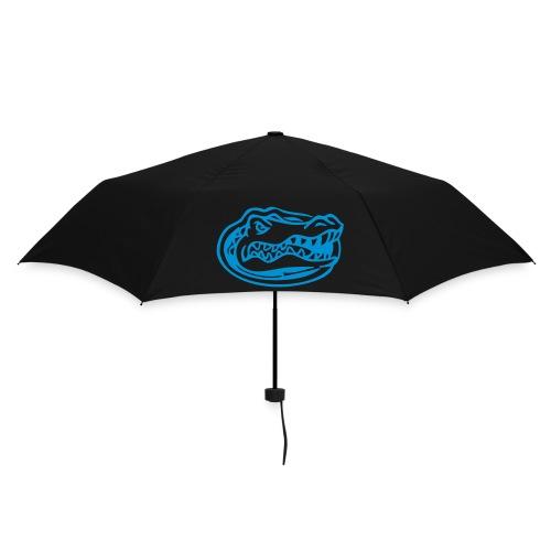 Orange & Blue Gator Head Umbrella (Black) - Umbrella (small)
