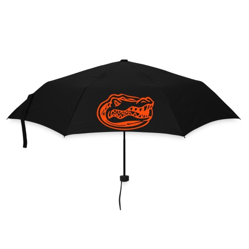 Orange & White Gator Head Umbrella (Black) - Umbrella (small)