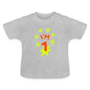 1. birthday Shirts - Baby T-Shirt