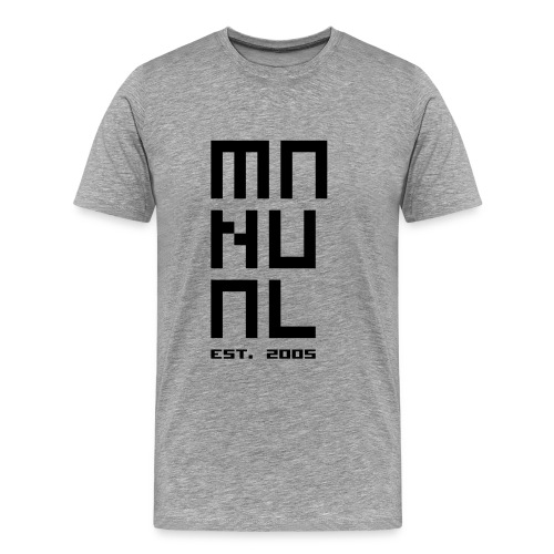 Manual 'Est. 2005' Grey/Black - Men's Premium T-Shirt
