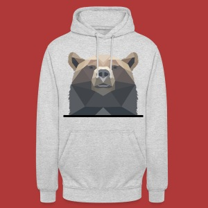 Sweat unisexe bear - Sweat-shirt à capuche unisexe