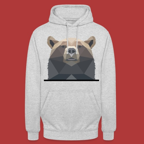 Sweat unisexe bear - Sweat-shirt à capuche unisexe