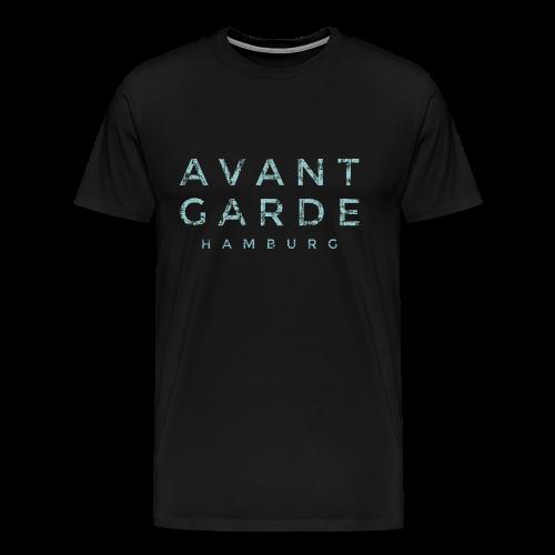 Avantgarde Hamburg (Vintage Hellblau) S-5XL T-Shirt - Männer Premium T-Shirt