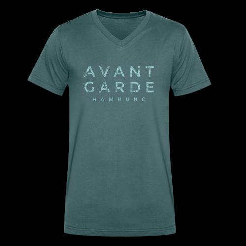 Avantgarde Hamburg T-Shirt (Herren/V) - Männer Bio-T-Shirt mit V-Ausschnitt von Stanley & Stella