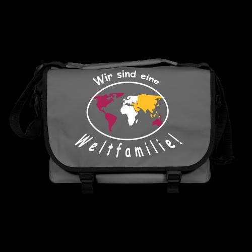 TIAN GREEN Tasche Bag 01 - Wir sind eine Weltfamilie - Umhängetasche
