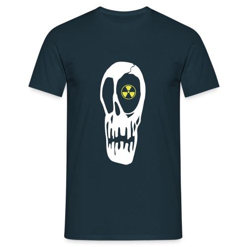 tête de mort radioactive - T-shirt Homme