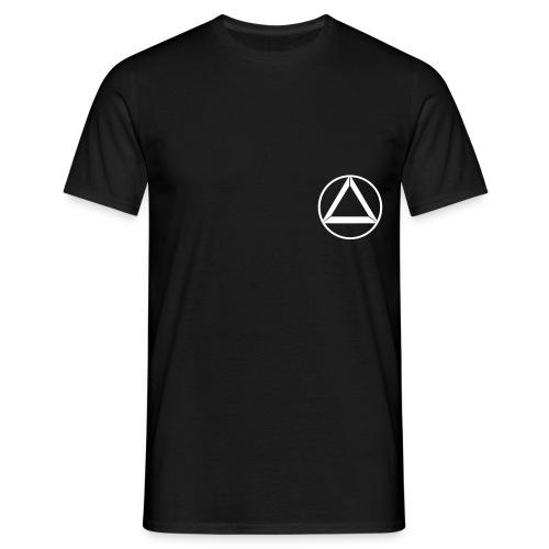 T- Shirt  Crew Black - Männer T-Shirt