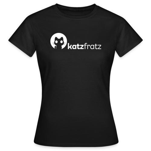 Katzfratz Logo T-Shirt - Frauen T-Shirt