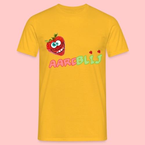 AARDBLIJ - Mannen T-shirt
