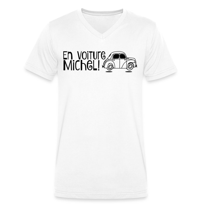 tee shirt en voiture michel   4cv