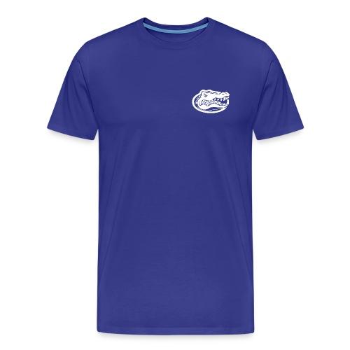 London Gator Club (Color Choice) - White lettering - Men's Premium T-Shirt