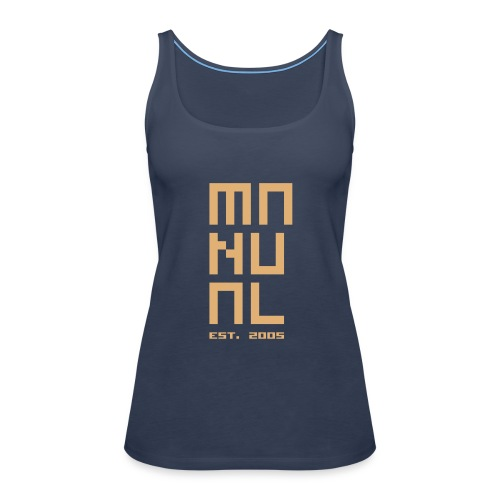 Manual Tank Top Female - Women's Premium Tank Top