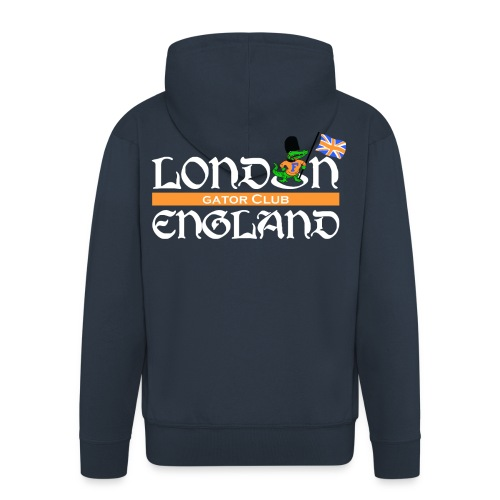 London Gators Hoodie Style 3 - Men's Premium Hooded Jacket