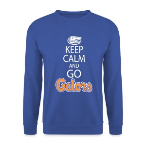 Keep Calm, *No Gator Club logo*  - Men's Sweatshirt