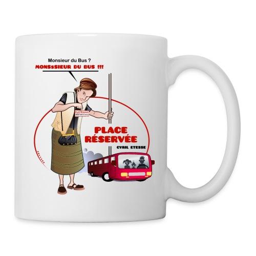 Mug Place réservée - Mug blanc