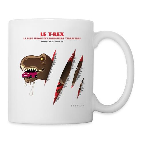 Mug T-rex 1 - Mug blanc