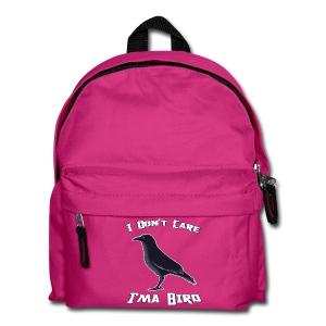 I Don't Care - Kids' Backpack