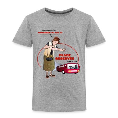 Tshirt Enfant Place réservée - T-shirt Premium Enfant