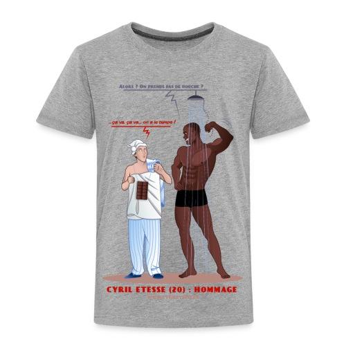 Tshirt Enfant Hommage - T-shirt Premium Enfant