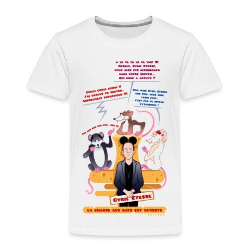 Tshirt Enfant Chasse aux rats - T-shirt Premium Enfant