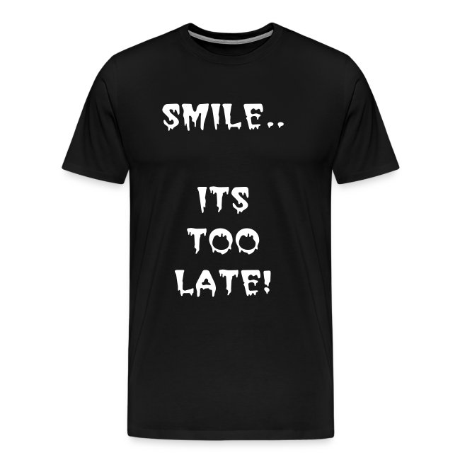 SMILE - ADULT T-SHIRT