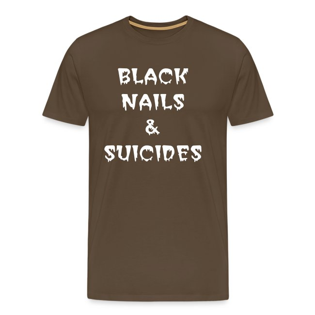 BLACK NAILS - ADULT T-SHIRT