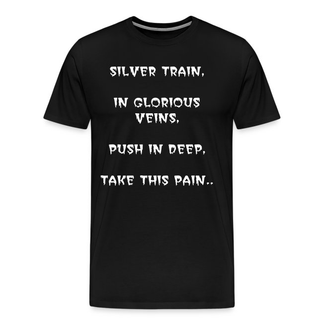 SILVER TRAIN - ADULT T-SHIRT