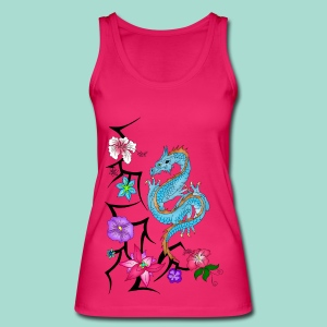 Drache Tops - Frauen Bio Tank Top
