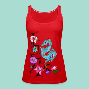 Drache Tops - Frauen Premium Tank Top